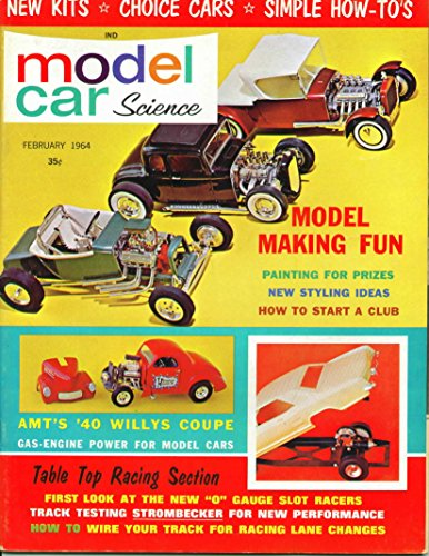 Model Car Science Magazine February 1964
