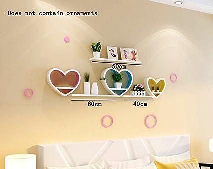 Amazon com: ALUS- PU Coating Wood-based Panels Heart-shaped