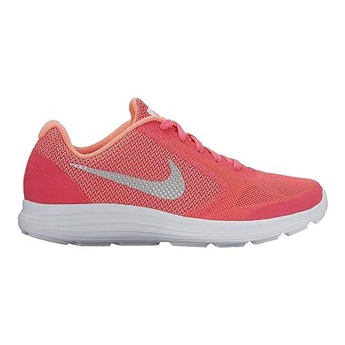 ad8857314 Zapatilla Multideporte Junior Nike Revolution Rosa  Amazon.es ...