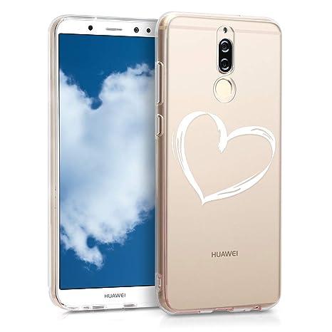 Amazon.com: kwmobile - Carcasa de silicona y TPU para Huawei ...