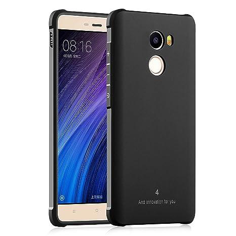 Hevaka Blade Xiaomi Redmi 4 Funda - TPU Carcasa Smart Case Cover Para Xiaomi Redmi 4 - Negro