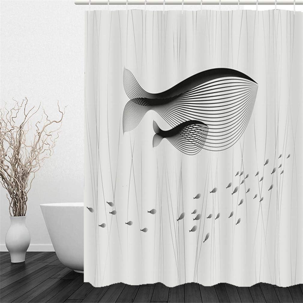 240 x 200 cm, tela antimoho, incluye 12 anillas para cortina de ducha, lavable, 180 x 180 cm X-Labor Cortina de ducha impermeable