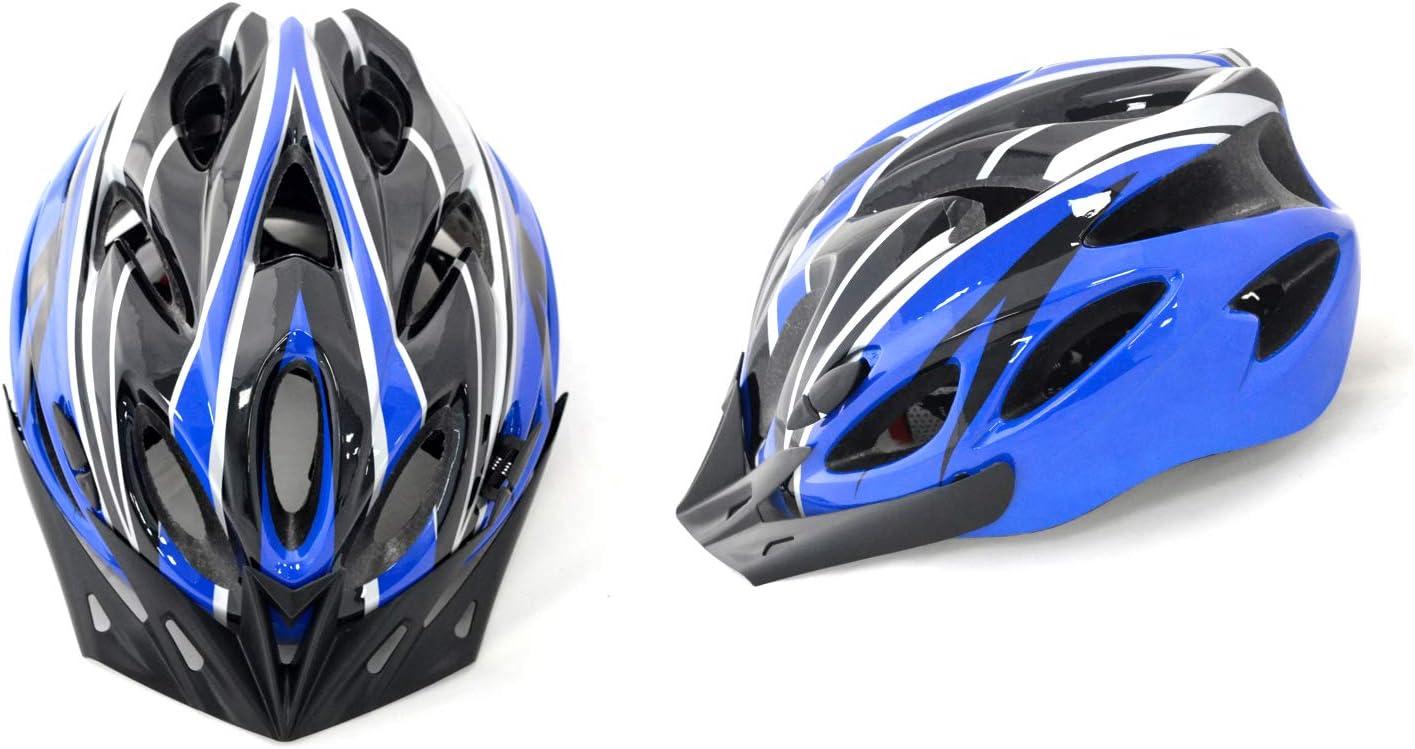 casco per bicicletta unisex Shine/® per bici da strada e mountain bike leggero regolabile