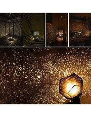 Ev ışık, Akçaağaç yaprak Celestial Star Cosmos gece lamba Night Lights projeksiyon projektör yıldızlı gökyüzü