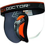 Shock Doctor Ultra Pro - Coquilla protectora con suspensorio (carbón flexible)