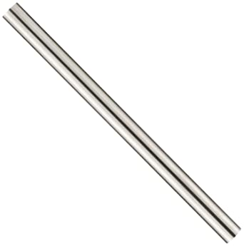 Pack of 12 Finish 2.625 Length High-Speed Steel HSS Mill Undersized Tolerance 7//64 Diameter Unpolished Round Rod