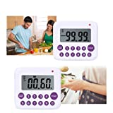 Digital Kitchen Timer, TuoPulife Simultaneous