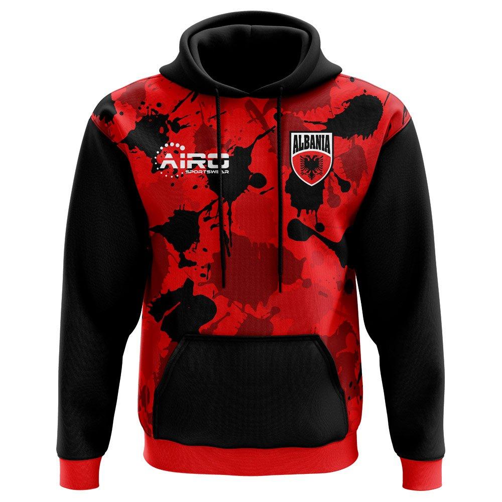 Airo Sportswear 2018-2019 Albania Home Concept Hoody
