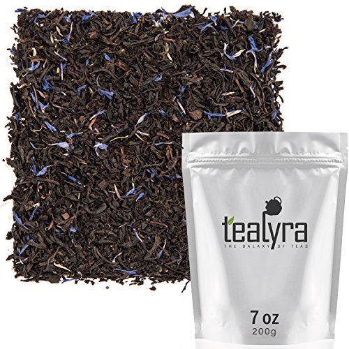 - Tealyra - Cream Earl Grey - Classic Black Loose Leaf Tea - Citrusy with Vannilla Flavor - Fresh Award Winning Tea - Medium Caffeine - All Natural Ingredients - 200g (7-ounce)