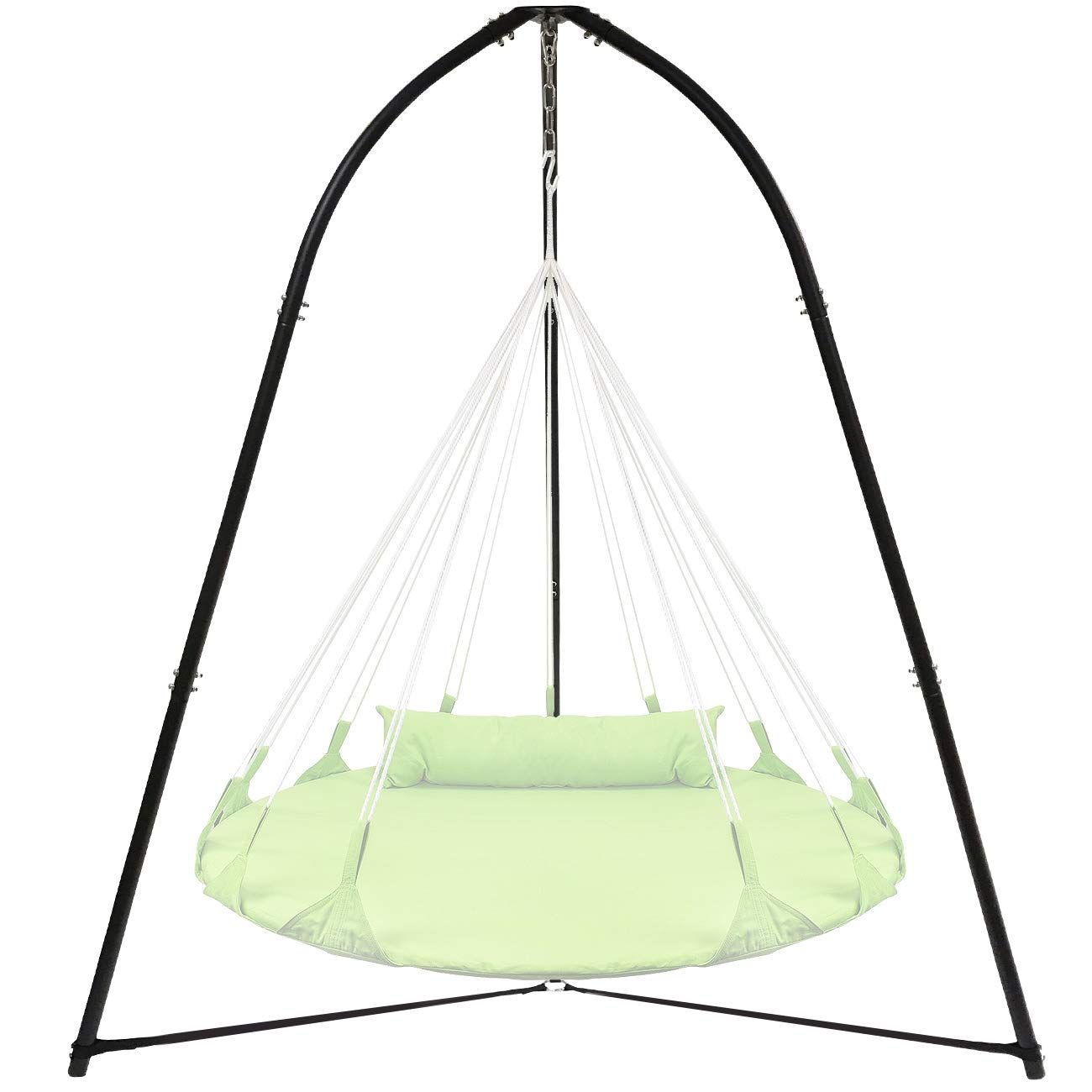 Sorbus Tripod Hanging Chair Stand Frame for Hanging Chairs, Swings, Saucers, Loungers, Cocoon Chairs, Great for Indoor/Outdoor Use, Patio, Lawn, Deck, Yard, Garden