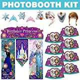 Costume SuperCenter Frozen Photo Booth Kit - Party Supplies