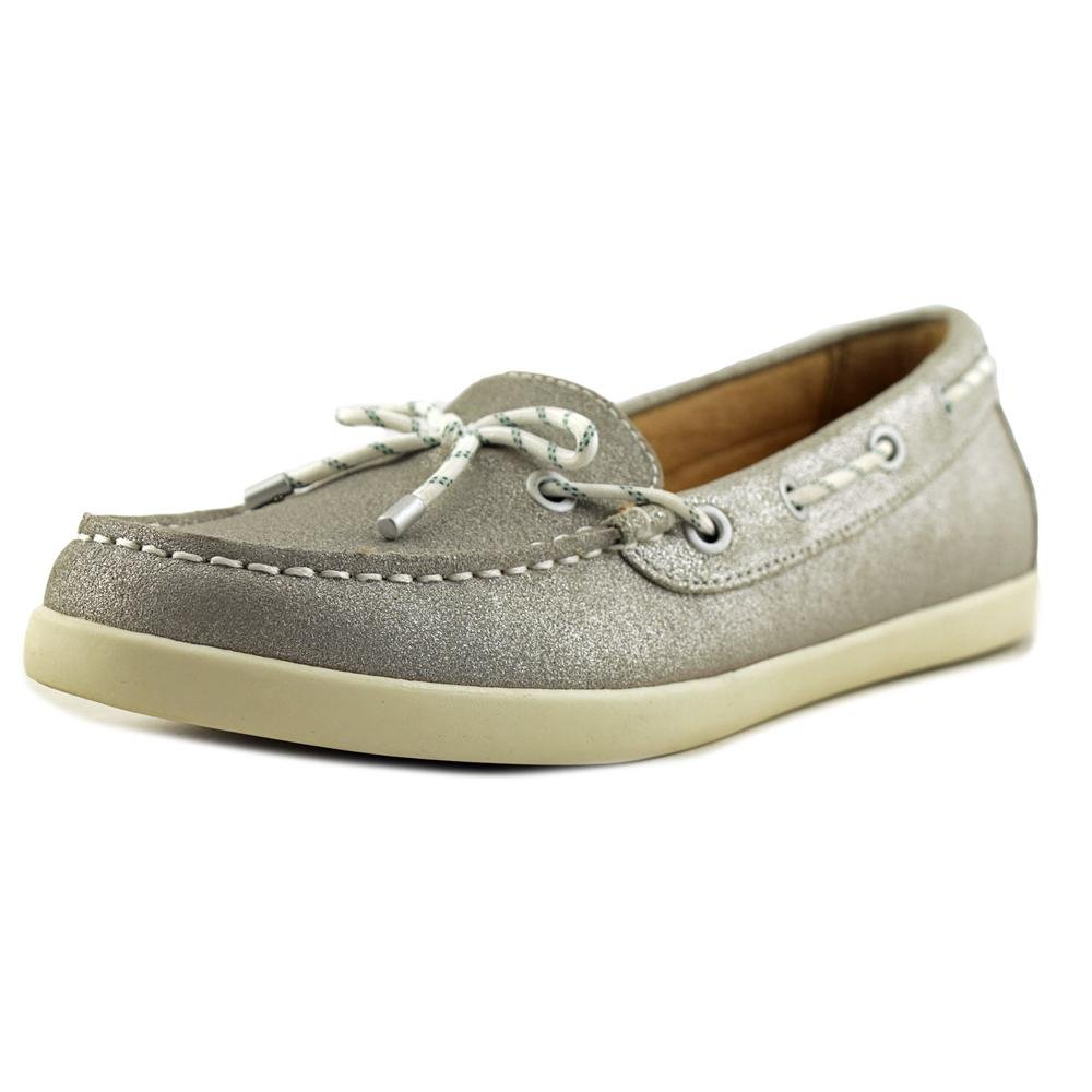 Naturalizer Womens Ginnie Fabric Closed Toe Boat Shoes B01I4ELRXM 7.5 B(M) US|Silver Leather