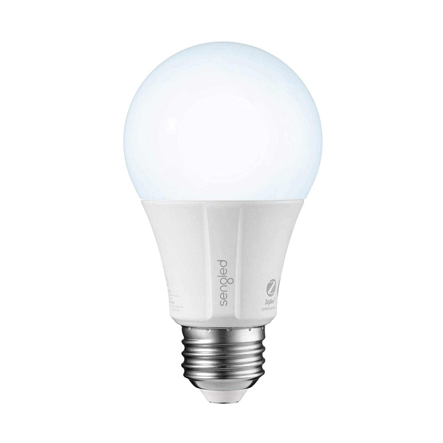 Sengled Smart LED Daylight A19 Bulb, Hub Required, 5000K 60W Equivalent, Works with Alexa, Google Assistant & SmartThings, 1 Pack