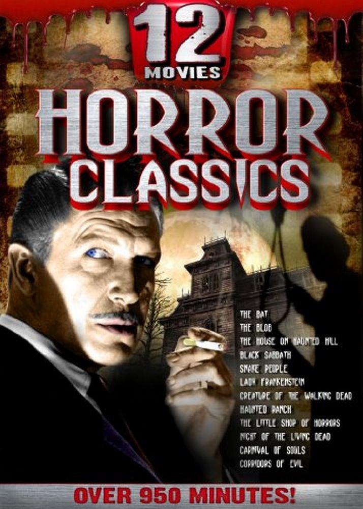 12 Movies Horror Classics