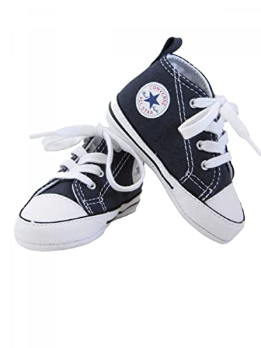 e328491a31a18 Converse-Baskets All Star Toile Bleu Marine bébé garçon  Amazon.fr ...