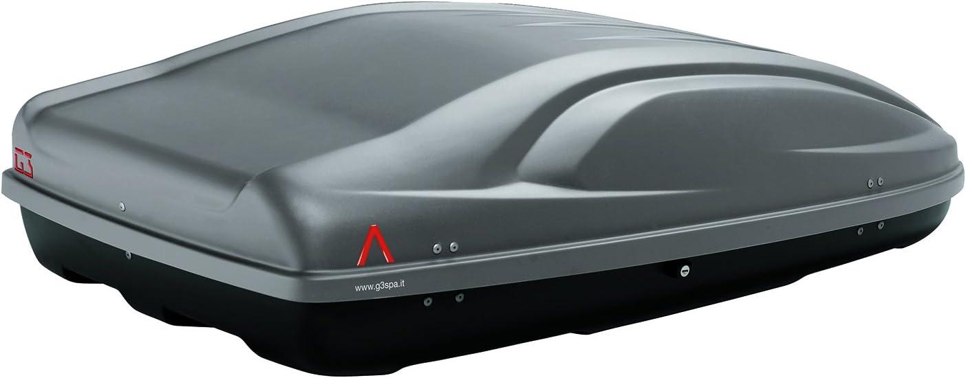 La Prealpina Lp G3 Vw96f13 Az03060015 Aluminium DachtrÄger Dachbox All Time 400 Grau Auto