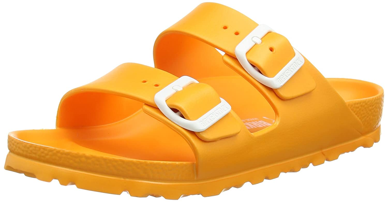 Birkenstock Arizona EVA - Mules Unisex Adulto 36 EU|Naranja - Orange (Neon Orange)