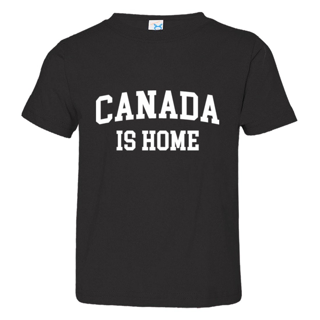 Toddler Canada is Home Born in from Cannuck HQ Tee Shirt