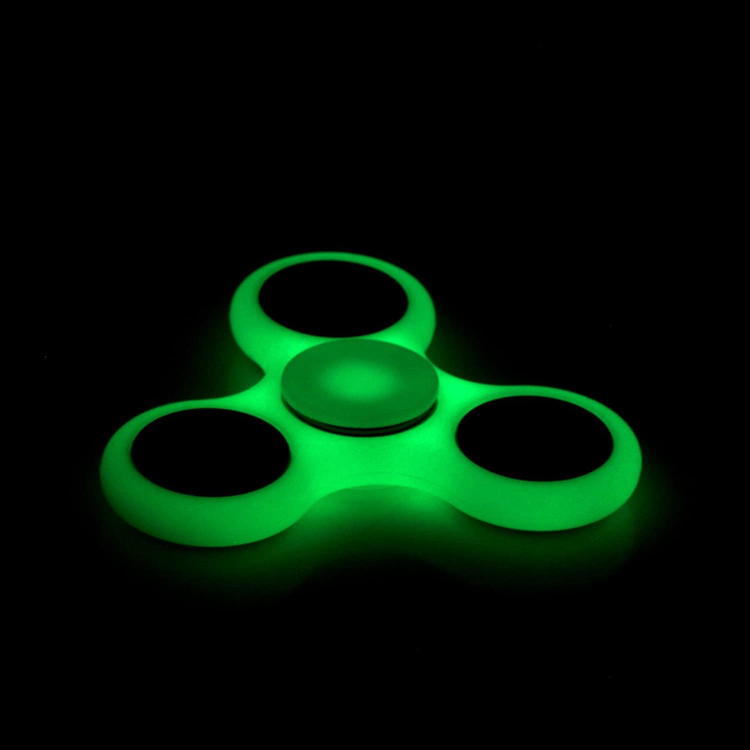 Fidget Spinner Toy Glowing Hand Spinner Perfect For ADD, ADHD, Anxiety And Stress Relief