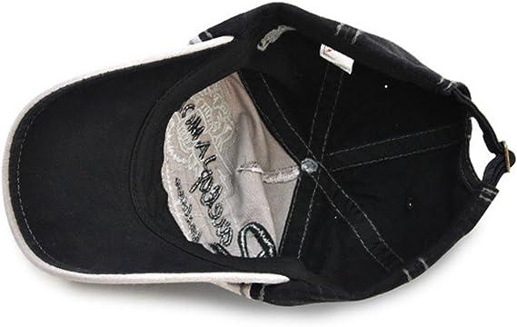 japanische Schl/ümpfe verstellbar Retro-Stil Hongyan Baseballkappe f/ür Herren und Damen atmungsaktiv Schwarz