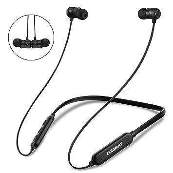 ELEGIANT Auriculares Bluetooth Deporte Inalámbricos IPX6 CVC 6.0 con Micrófono para iPhone XS XS MAX XR