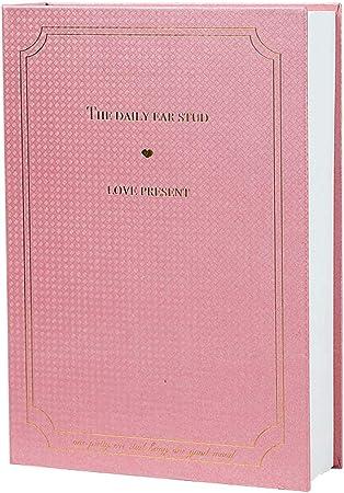 zz Caja Fuerte con Forma De Libro para Libros con Cerradura De Combinación Cierre Antirrobo De Contraseña Combinación De 3 Dígitos Caja De Caudales Camuflada,Pink-Password: Amazon.es: Hogar