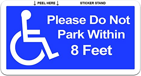 if you can read this move wheelchair towing old men VINYL DECAL STICKER 1172