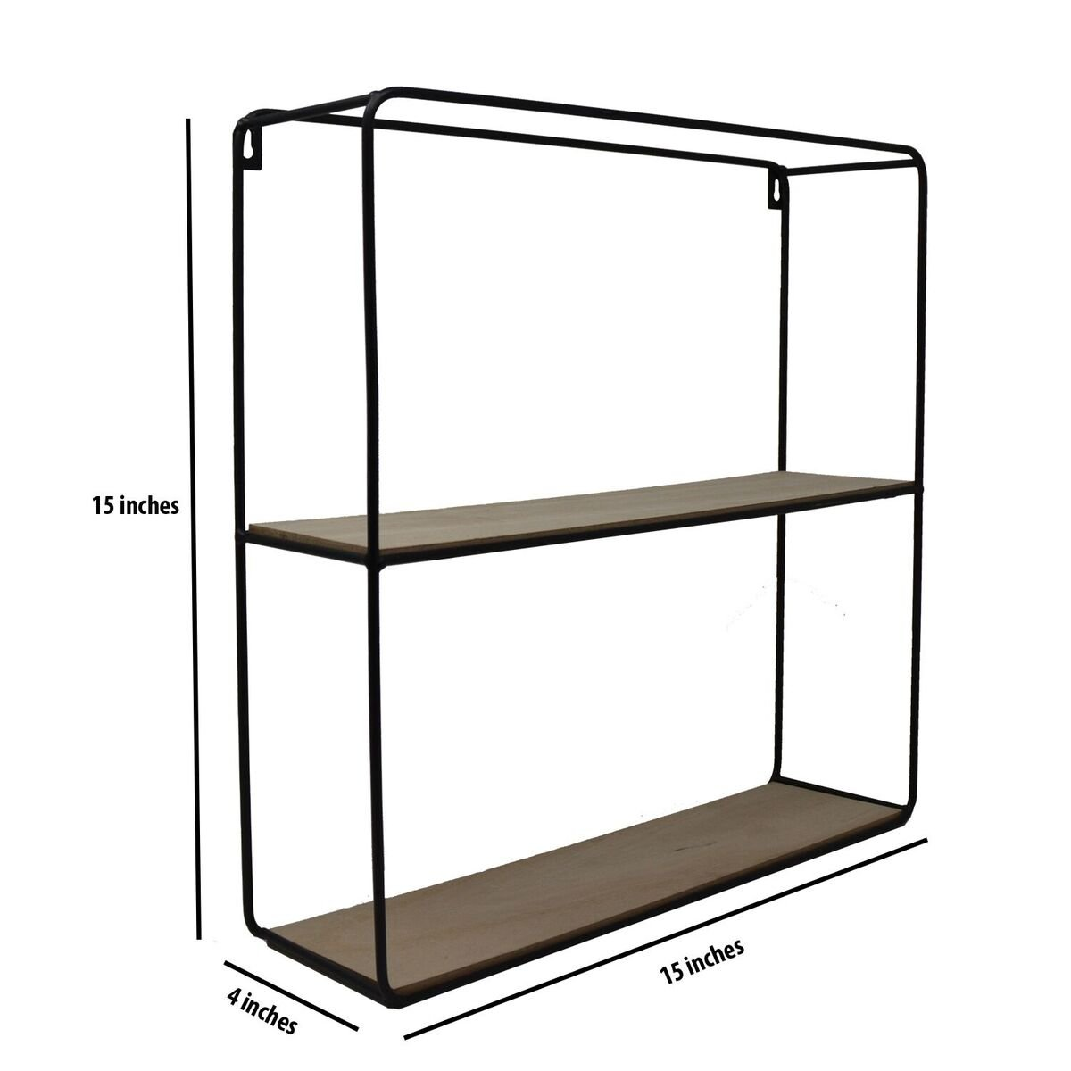 Modern Metal Wire Frame Shadow Boxes Decorative Wire Cube Floating