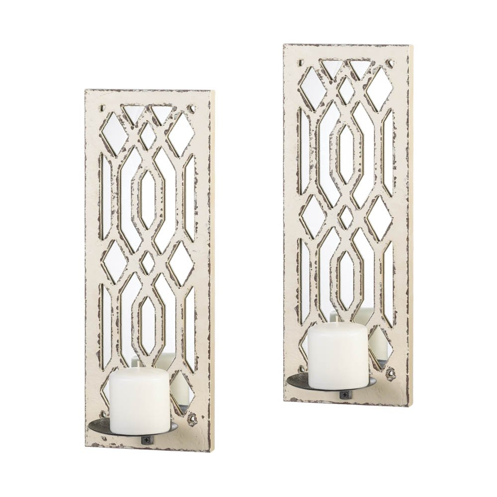 Wall Sconces Candle Holder Hanging Lantern Bathroom Bedroom Pendant Chandelier Decorative Fixtures Light Set