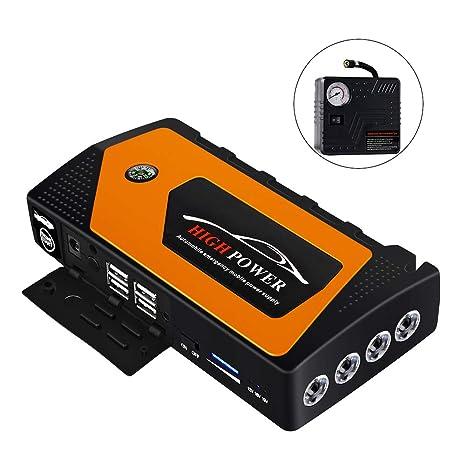 Amazon.com: Traioy - Arrancador de emergencia para coche con ...