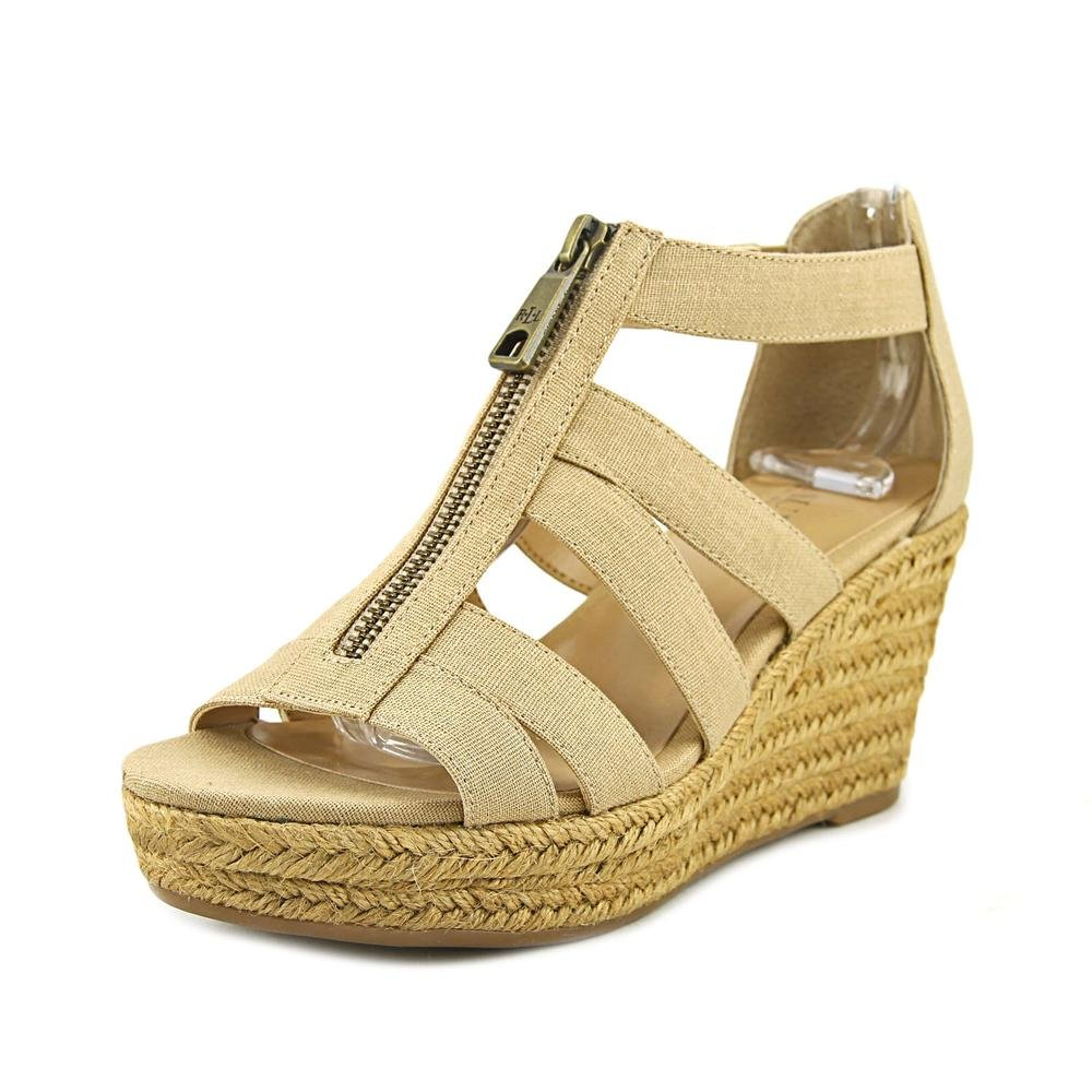Lauren by Ralph Lauren Womens Kelcie Fabric Open Toe Casual Espadrille Sandals B06Y2G38YT 7.5 M US|Sand