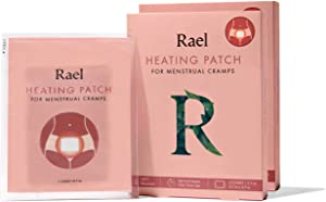 Rael Pain Relief Heating Patch - PMS Relief Natural Heating Patches (2 Pack/ 6 Count)