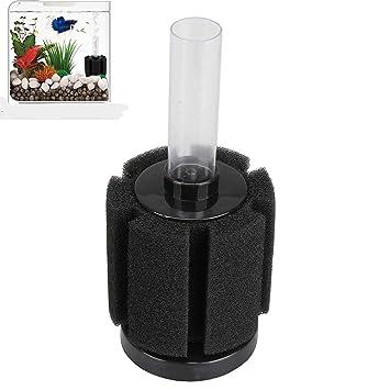 XelparucTS Esponja Bioquímica Betta Filtro para Acuario Adecuado para freír y Peces pequeños: Amazon.es: Productos para mascotas