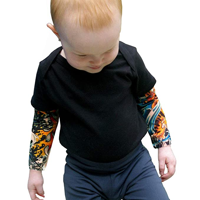 Amazon.com: Wild Rose tatuaje Funda Baby Boys Camisa, IKandy ...