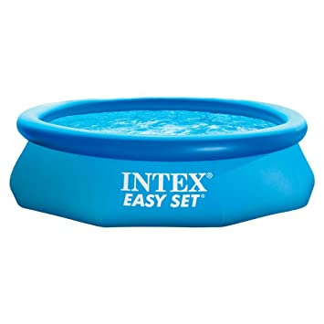 intex 10 x 30 easy set above ground inflatable swimming pool - Intex Pools