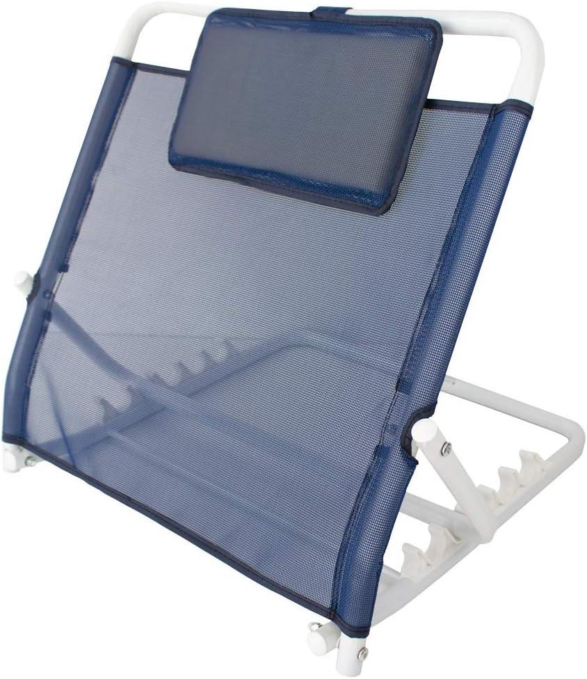 Mobiclinic, Respaldo incorporador de espalda, Incorporador de cama ajustable regulable, Respaldo ajustable para cama, Soporte de respaldo, Movilidad reducida, Evita malas posturas