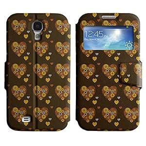 LEOCASE flor linda Funda Carcasa Cuero Tapa Case Para Samsung Galaxy S4 I9500 No.1006859