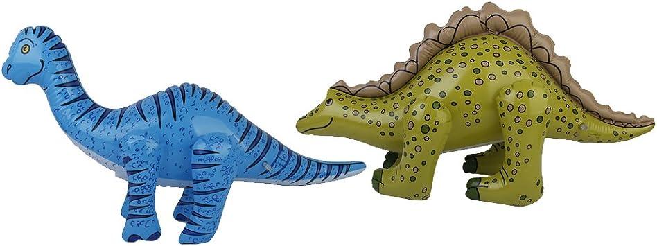 perfeclan El PVC Inflable De 2pcs Inflable El Dinosaurio De La ...