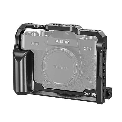 SMALLRIG Cage Jaula para Cámara Fujifilm X-T30 y X-T20: Amazon.es ...