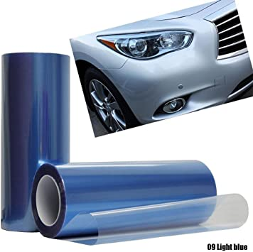 """New 3ft x 60/"""" purple taillight or headlight pvc film cover overlay wrap tint"""