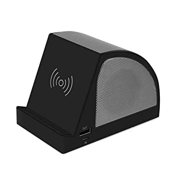 Macabolo 3 en 1 Wireless Bluetooth Altavoz Mesa Soporte Wireless ...