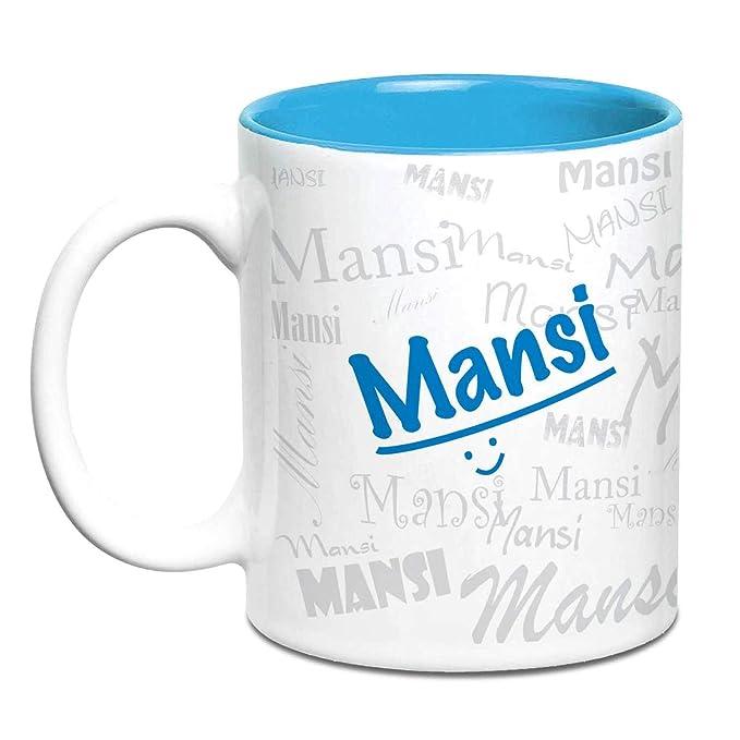 Buy Hot Muggs Me Graffiti Mug Mansi Personalised Name Ceramic 315ml 1 Unit Online At Low Prices In India Amazon In