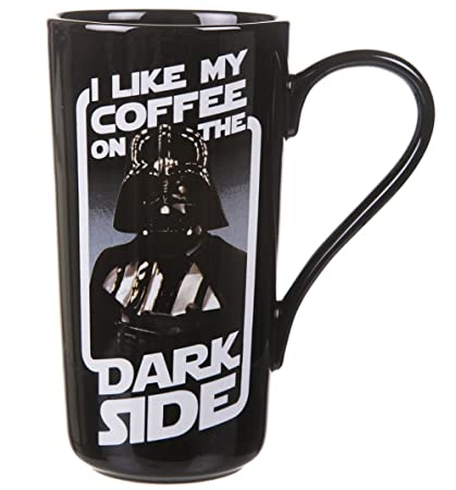 Darth Side Latte Boxed Vader Mug Coffee On I Like My Dark The cqAR354Lj