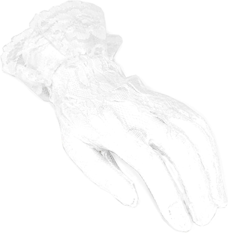 LG Elegant Lace Ruffle Cuff Gloves