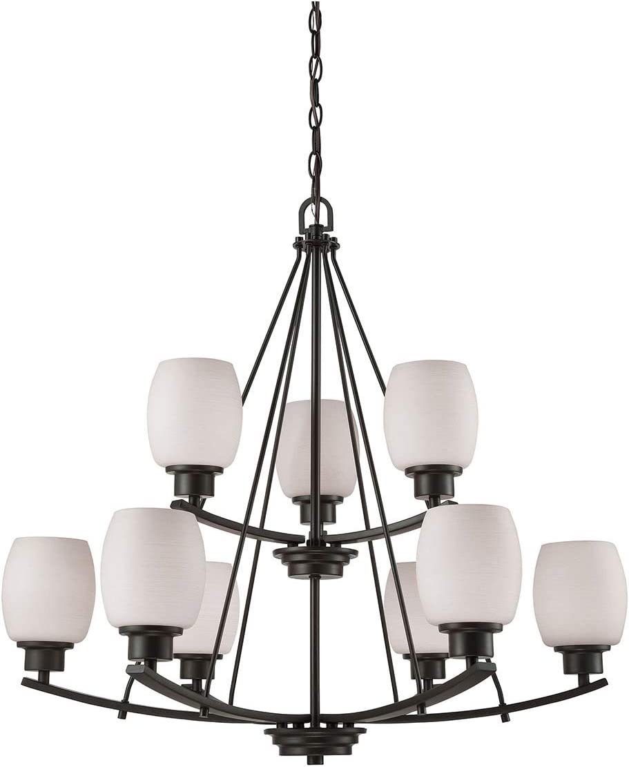 Thomas Lighting CN170921 Chandelier, Oil-Rubbed Bronze