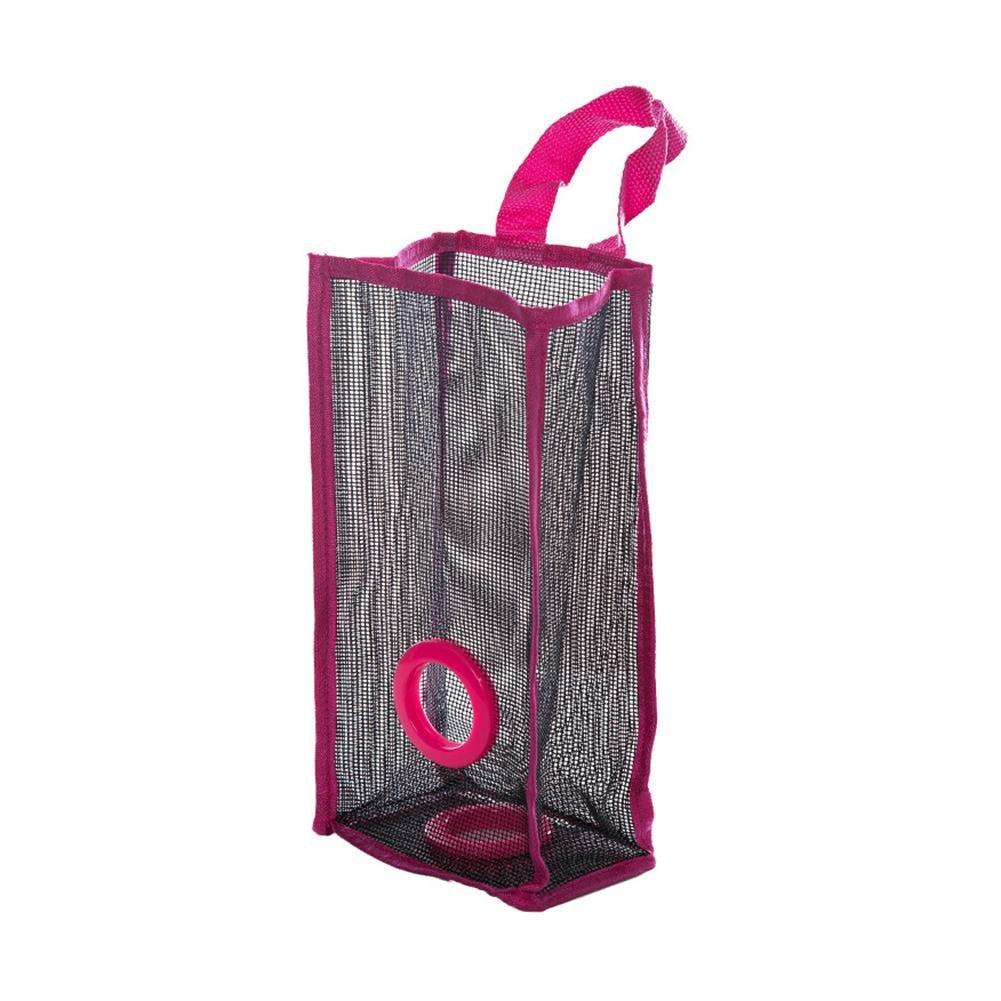 TTnight Mesh Garbage Bag Kitchen Hanging Breathable Storage Bag Small Size
