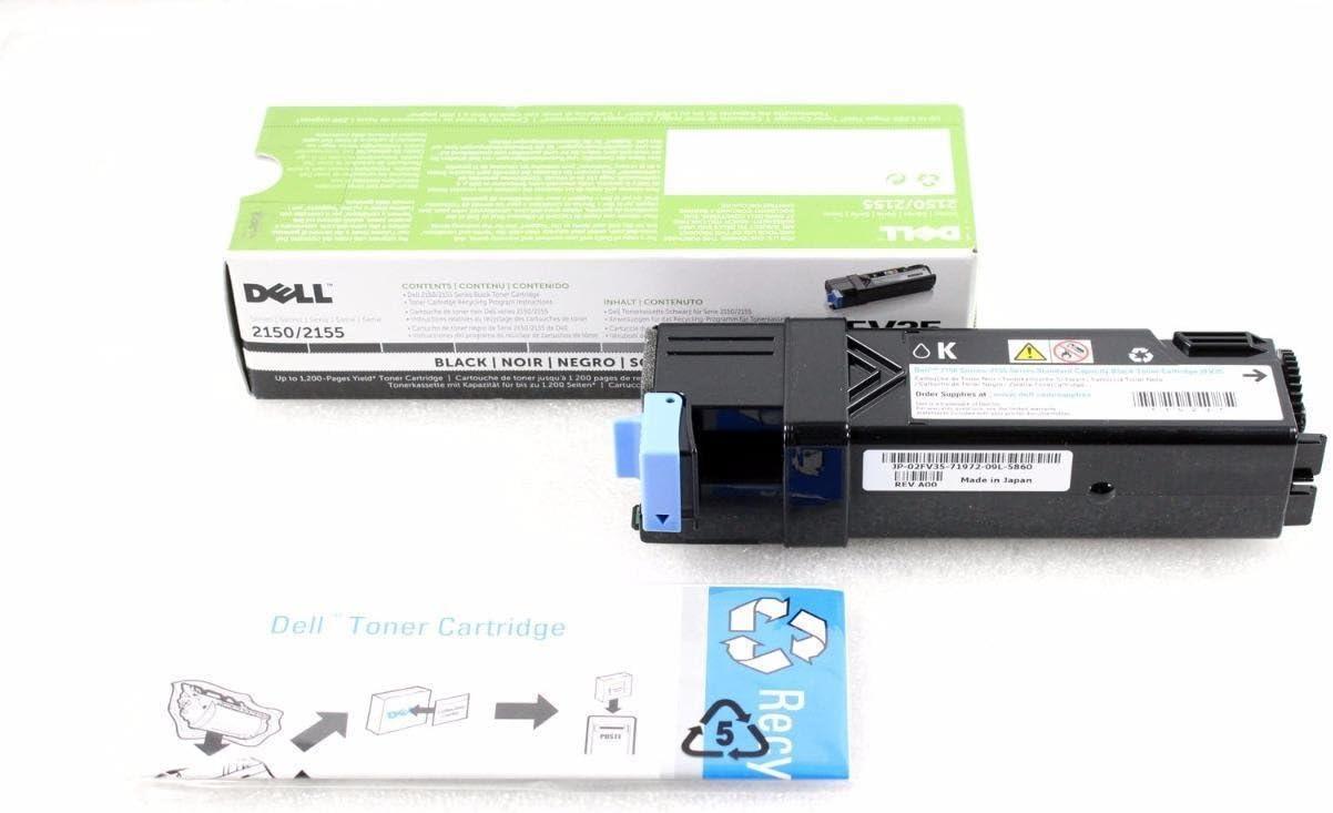 Dell 2FV35 Black 1.2 K Toner Series 2150/2155 02FV35A00 2FV35