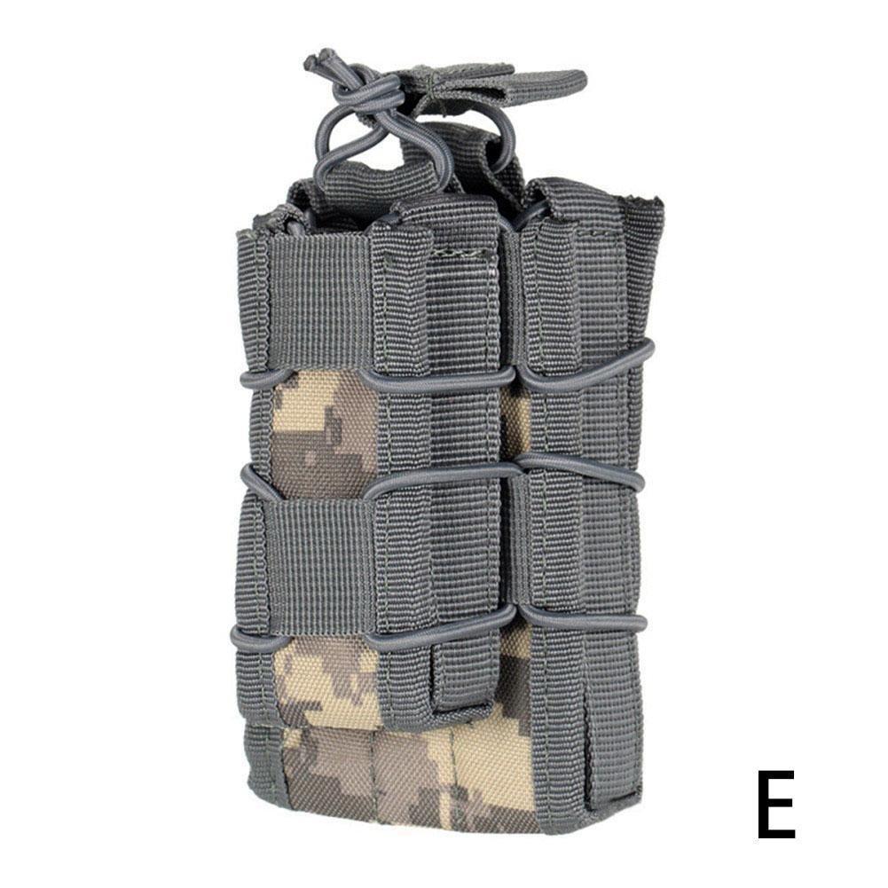 JinYiZhaoMing Outdoor Tactical Molle Zubehör Sub-Package Two-Link Magazintasche Field CS Weste Special Bag Zubehör Tasche Mud