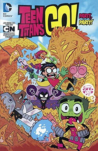 Party, Party! (Turtleback School & Library Binding Edition) (Teen Titans Go!)