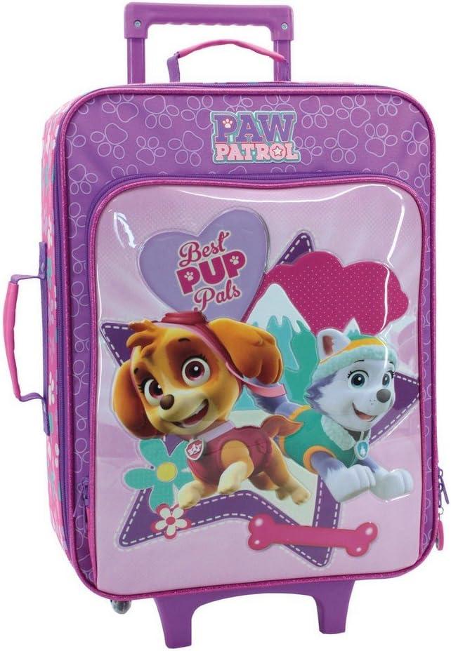 La Patrulla Canina Paw Patrol Equipaje de Mano, 26 litros, Color Rosa